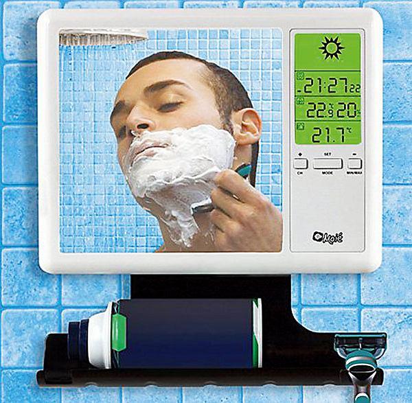 Moie' Fog-Free Shower Mirror