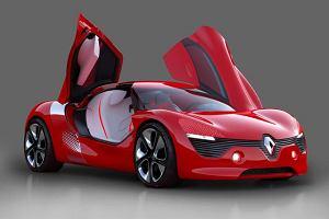 Renault DeZir - próbka stylu