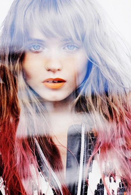 Abbey Lee Kershaw Vogue Australia marzec 2010