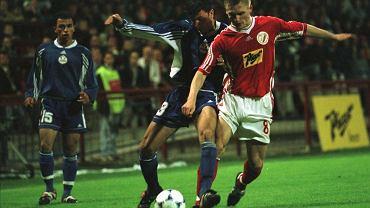 Mecz Widzew - Skonto w 1999 r.