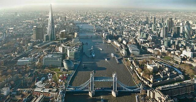 Wieża rodem z Władcy Pierścieni w Londynie