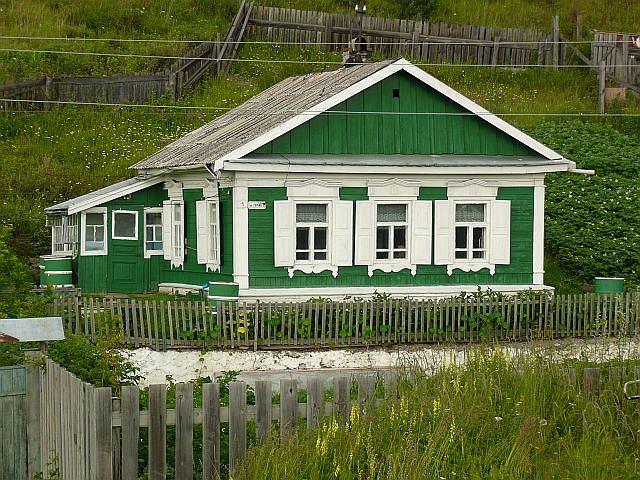 Nadbajkalska wiejska chata