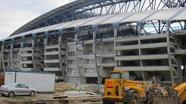 Stadion Miejski w Poznaniu - budowa