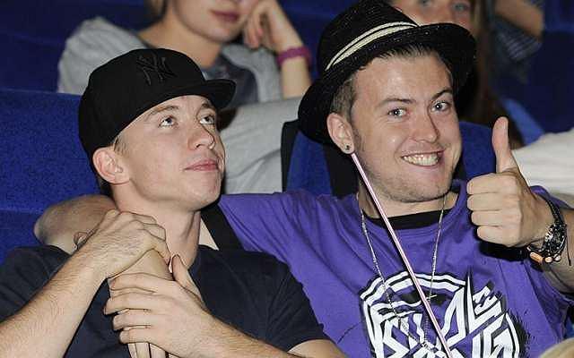 Alan Andersz i Wojtek Łozowski pojawili się na premierze filmu