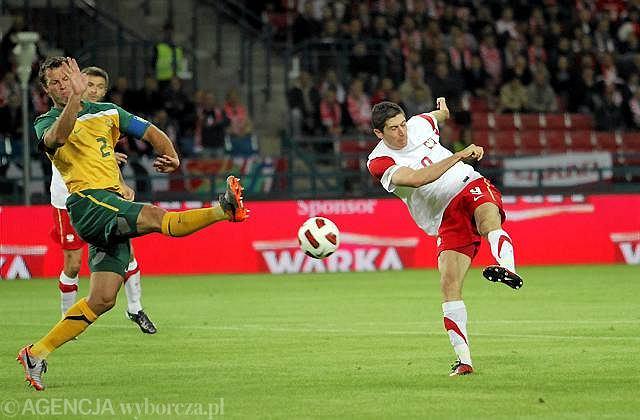 Robert Lewandowski, Polska - Australia