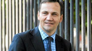 Radosław Sikorski, minister spraw zagranicznych