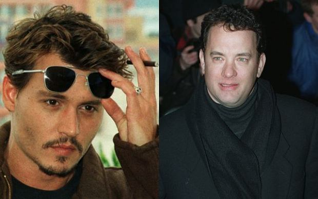 Johnny Deep i Tom Hanks