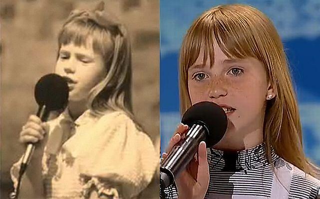 Doda w dzieciństwie i 11-letnia Magda Welc - uczestniczka