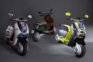 Paryż 2010   Mini Scooter E Concept