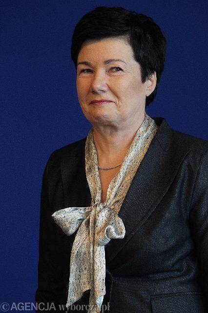 Hanna Gronkiewicz-Waltz prezydent Warszawy