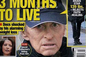 Michael Douglas ma 3 miesiące życia