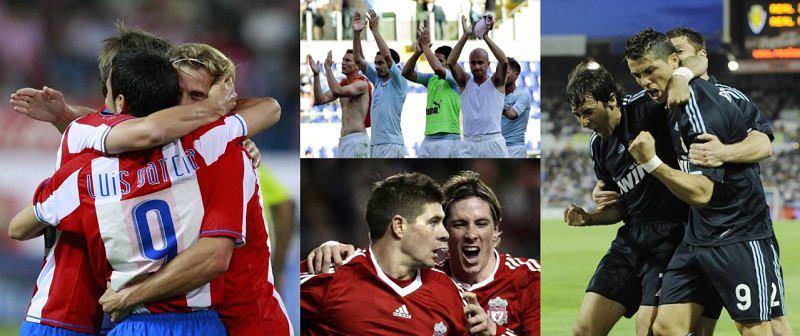 Atletico Madryt, Lazio Rzym, Liverpool FC, Real Madryt