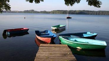 Jezioro Jaroszewskie w Sierakowie