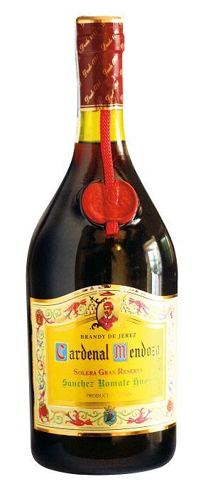 hiszpańskie spacjały - brandy de jerez