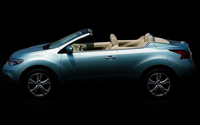 Nissan Murano CrossCabriolet - pierwsze zdjęcie