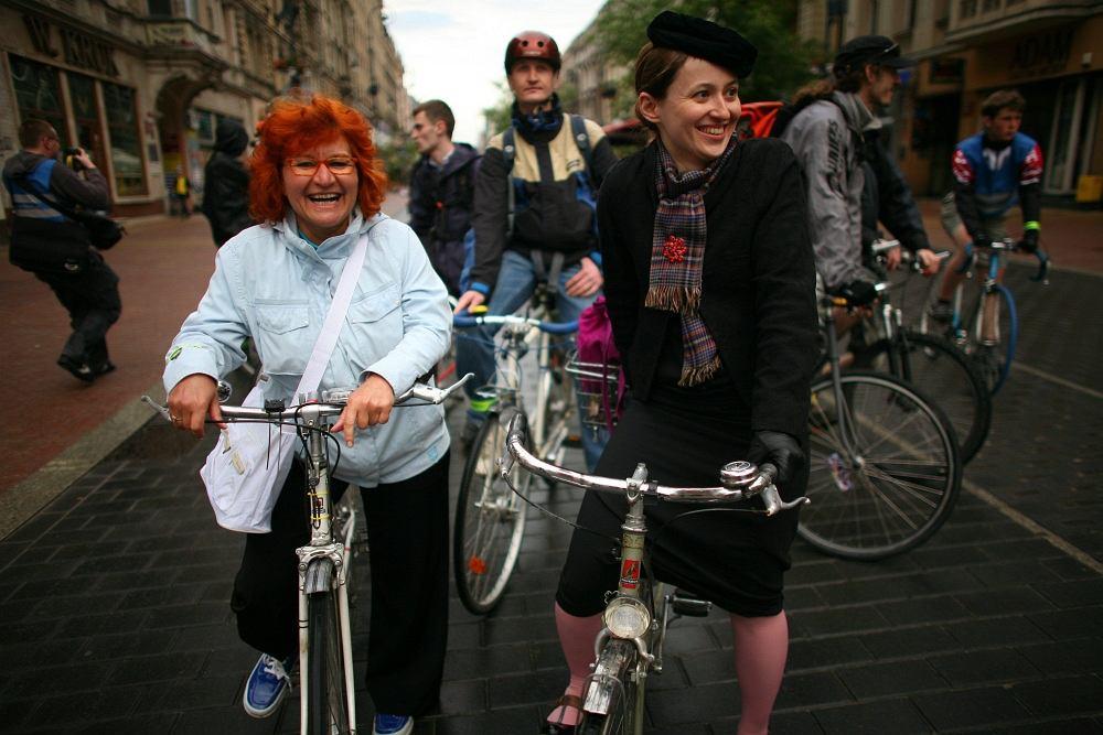 Ulica Piotrowska w Łodzi, rowery