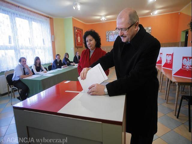 Urzędujący prezydent Katowic Piotr Uszok ubiega się o czwartą kadencję