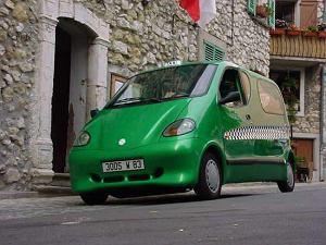 Taksówka od Tata Motors