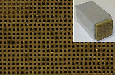 Metamateriałowa soczewka dźwiękowa z Berkeley.