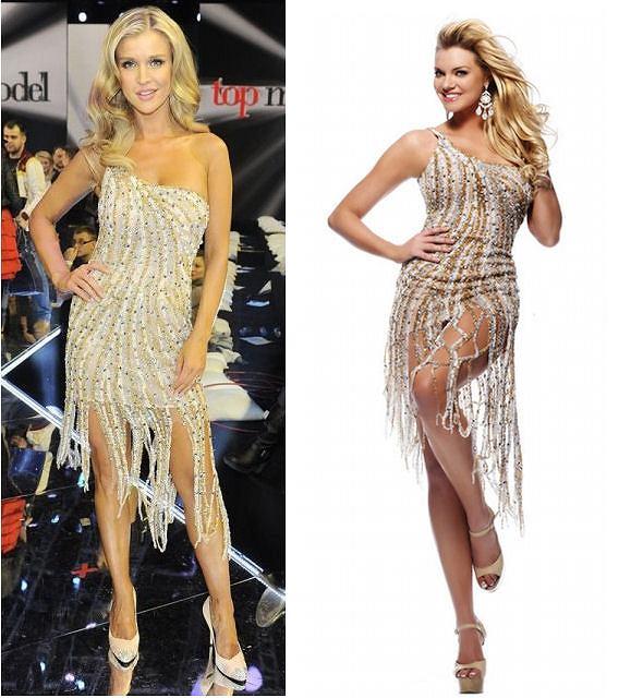 Joanna Krupa w sukience Sherri Hill