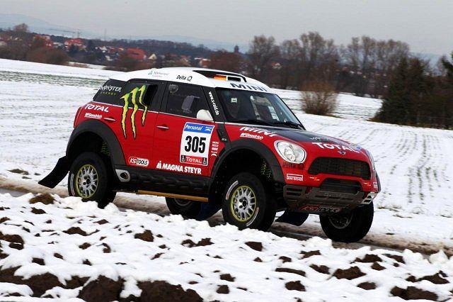 MINI ALL4 Dakar 2011