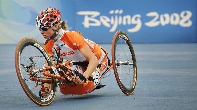 Monique van der Vorst z medalem igrzysk olimpijskich w Pekinie