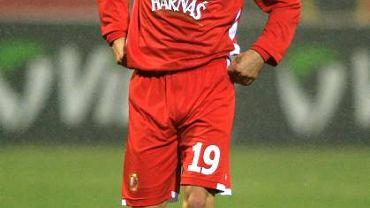Sebastian Madera z Lechii Gdańsk, jeszcze w barwach Widzewa Łódź