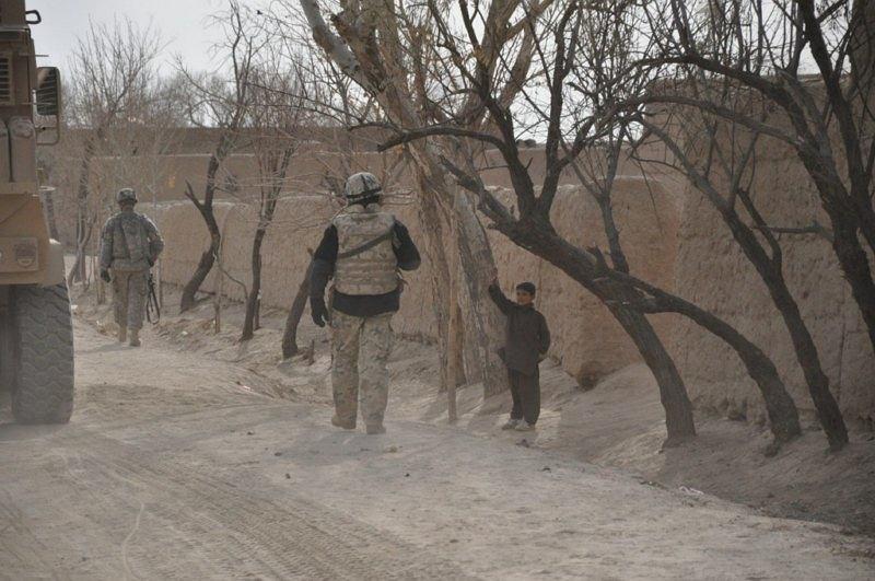 Żołnierze w Afganistanie