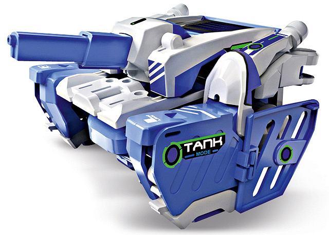 gadżety - Słoneczny transformer Wyjątkowość robota T3 polega na tym, że do funkcjonowania nie potrzebuje baterii, tylko energii słonecznej.