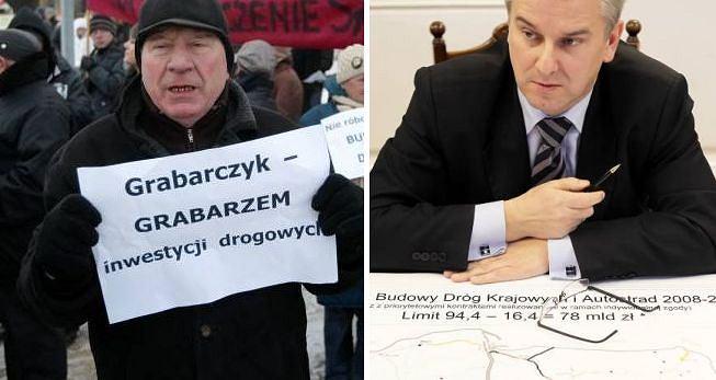 Decyzja o wstrzymaniu inwestycji drogowych wywołały protesty niezadowolonych mieszkańców wielu polskich miast
