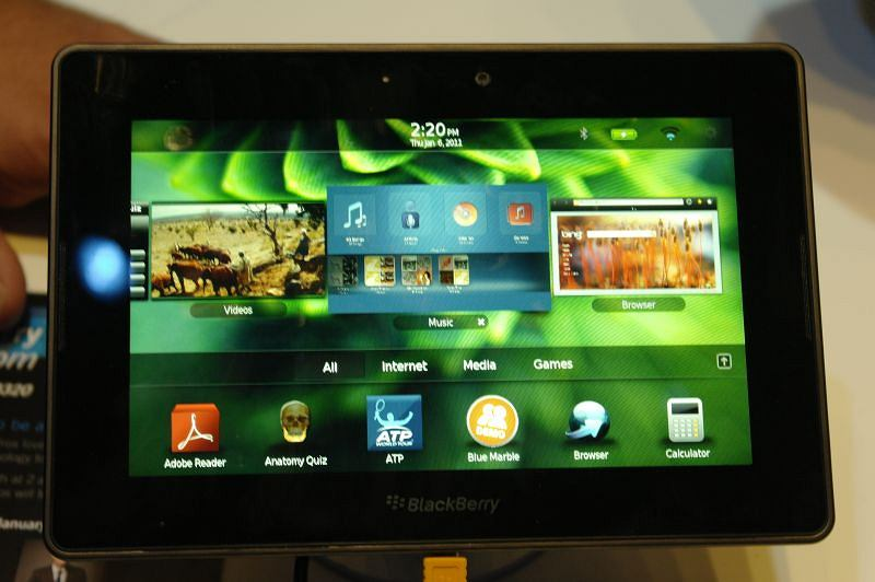 Tablet BlackBerry - Playbook