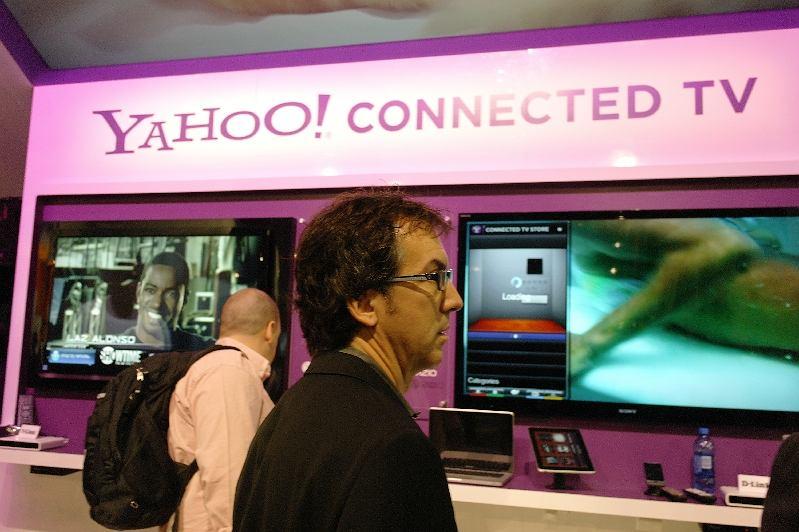 CES 2011 - Yahoo Internet TV