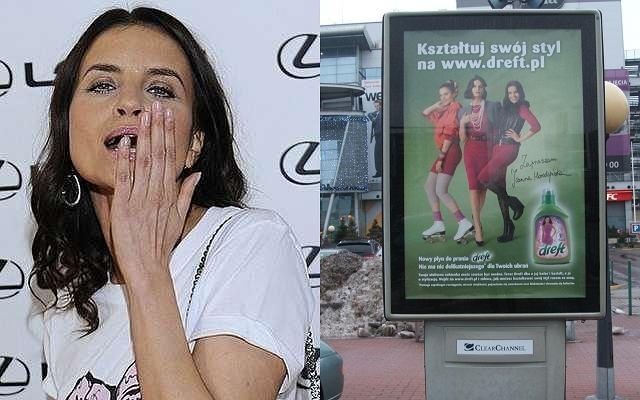 Joanna Horodyńska w reklamie