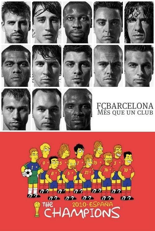 Fc Barcelona, reprezentacja Hiszpanii