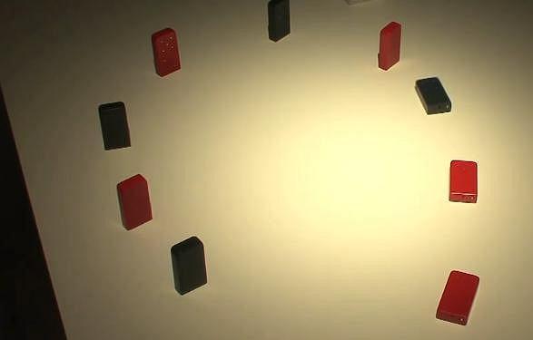 Bezprzewodowe domino