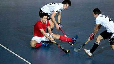 Halowy hokej na trawie. Polska - Niemcy 3:2