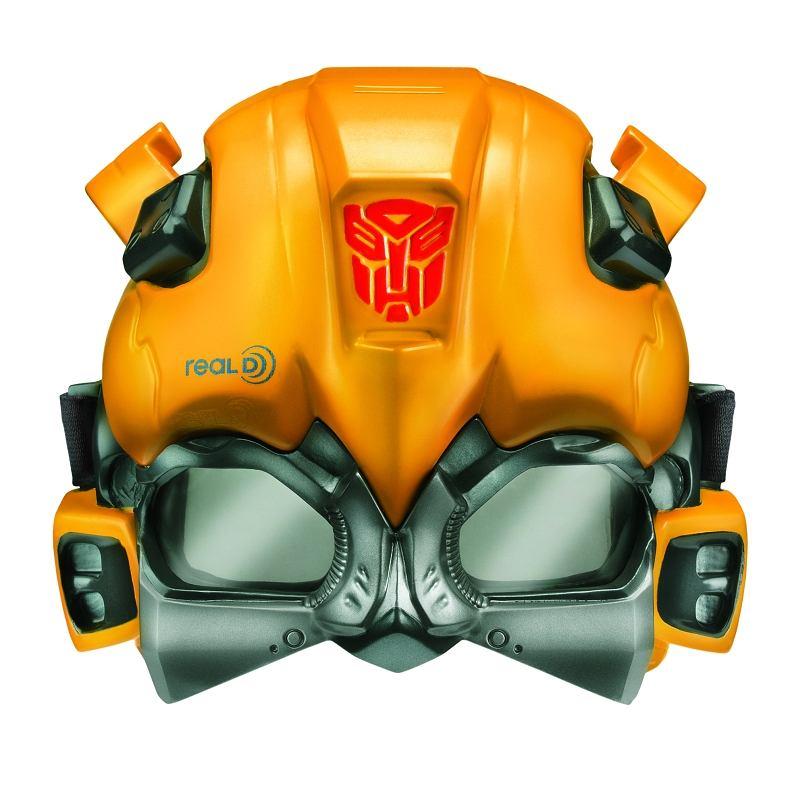 Okulary-maska 3D dla wielbicieli Transformersów