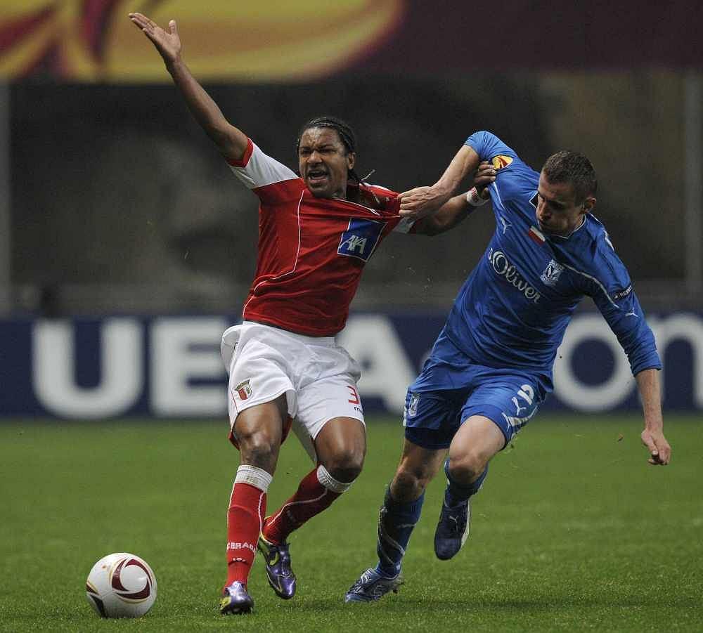 Sporting Braga wyeliminował Lecha Poznań z pucharów w 2011 roku