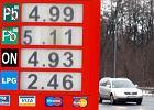 Kiedy ceny benzyny idą w górę wszyscy tankują przy markecie