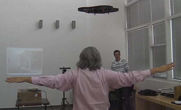 Kinect Parrot AR Drone