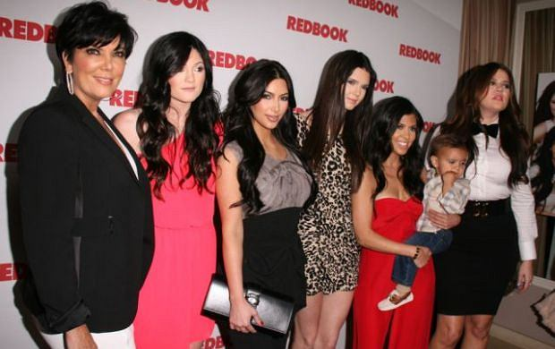 Rodzina Kardashianów świętowała w Los Angeles swoją obecność na okładce magazynu