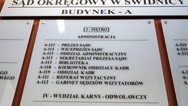 Sąd Okręgowy w Świdnicy - zdjęcie archiwalne