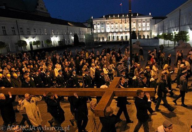 Droga krzyżowa w Warszawie