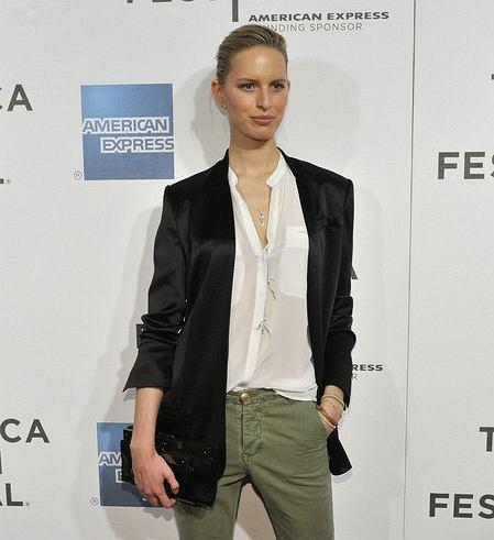 Karolina Kurkova na Festiwalu filmowym Tribeca