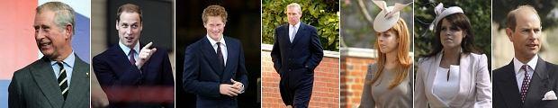 Kliknij, by dowiedzieć się who is who w brytyjskiej Rodzinie Królewskiej