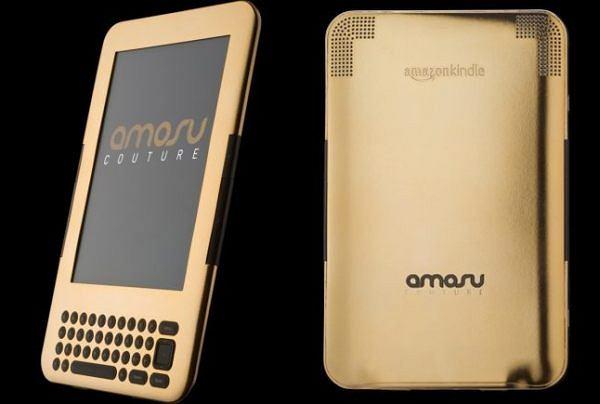 Złoty Amazon Kindle