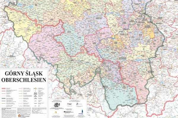 Mapa Slaska W Prezencie Od Gazety Wyborczej