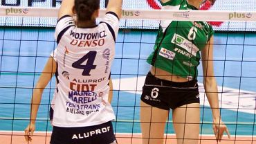 Agnieszka Bednarek-Kasza (z prawej) - MVP wtorkowego meczu