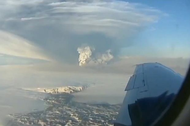 Erupcja wulkanu Grimsvotn