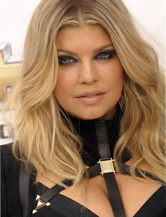 Fergie na imprezie BMA